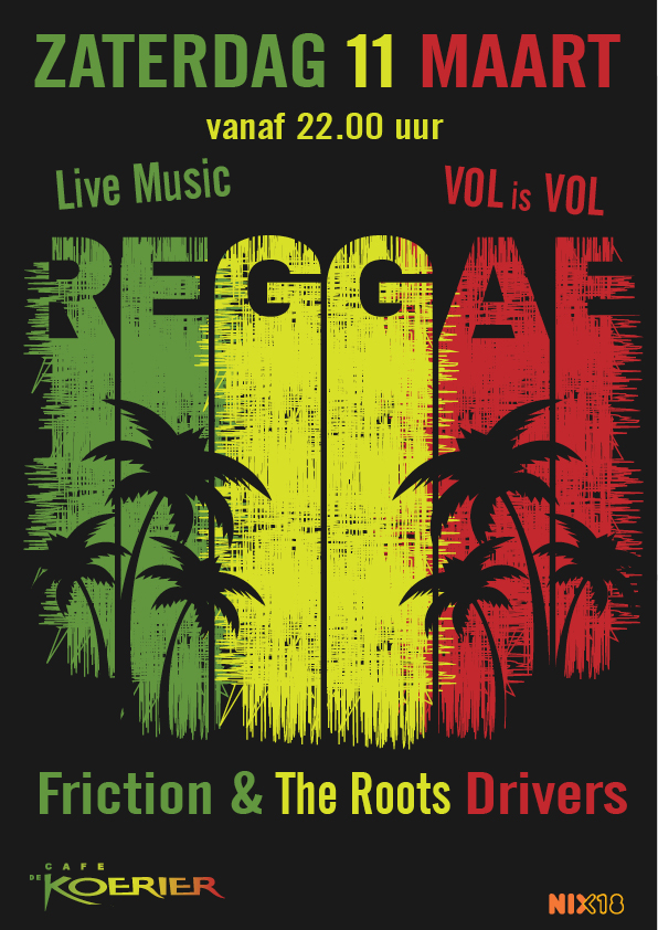 Poster reggae night