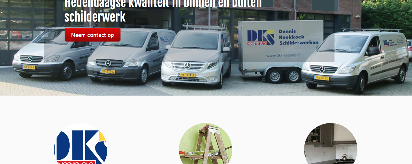 Make-over website DKS-Eemnes Schilderwerken