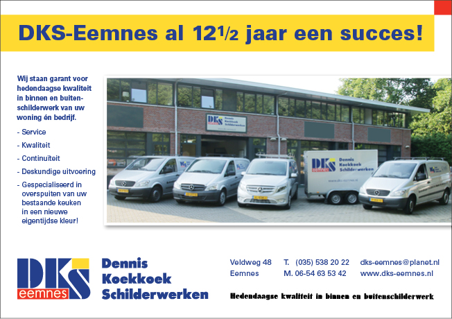 Advertentie dks eemnes_kader