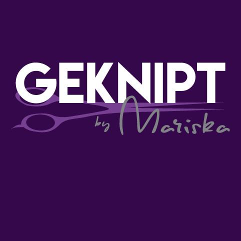 Ontwerp logo en huisstijl 'Geknipt by Mariska'