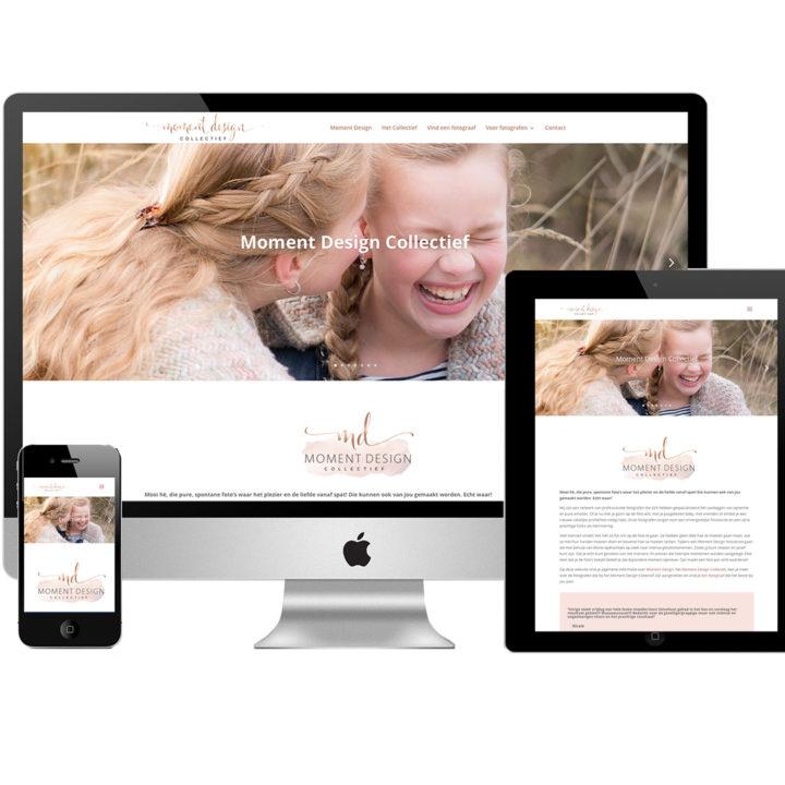 Website Moment Design Collectief