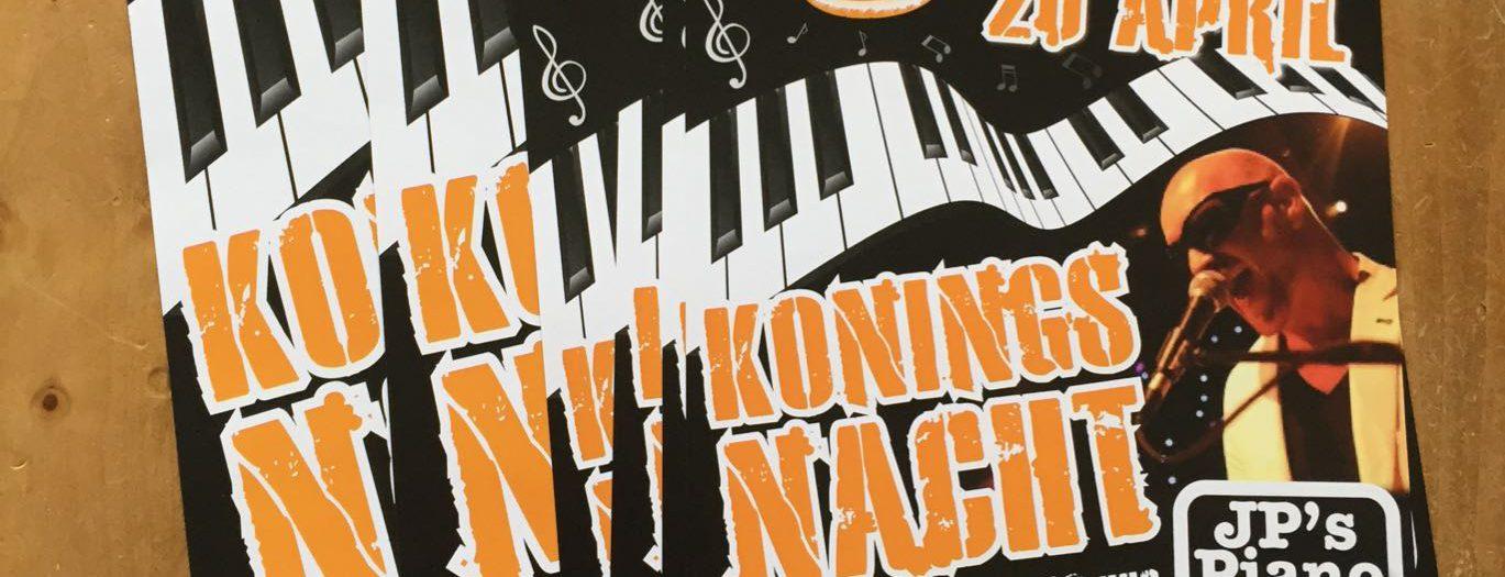 Poster Koningsnacht - Café de Koerier