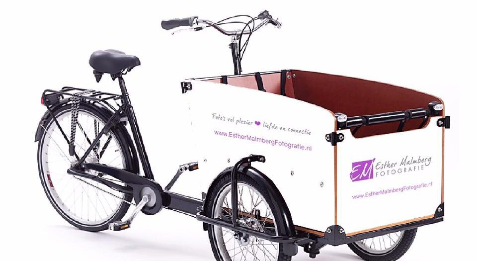 Bakfiets reclame - Esther Malmberg Fotografie
