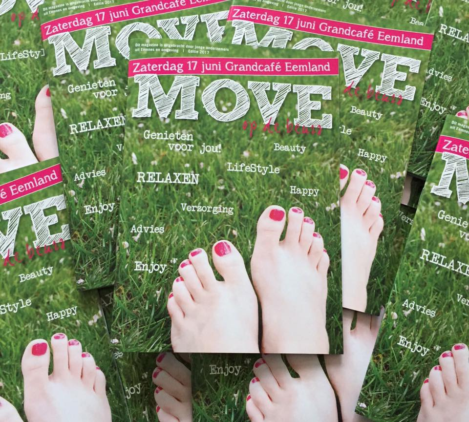 Ontwerp brochure en poster MOVE
