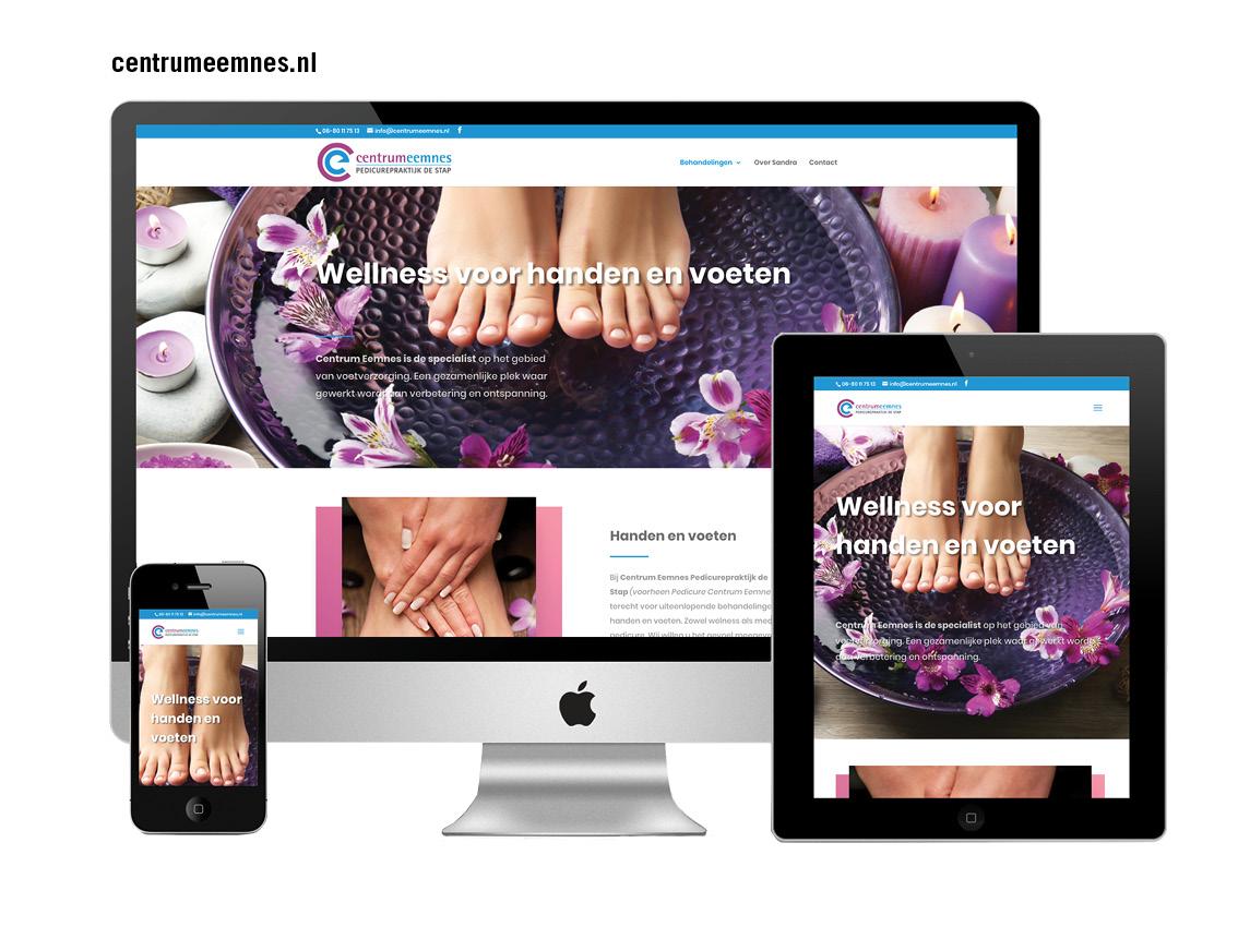 CC Grafisch Ontwerp_website pedicure eemnes
