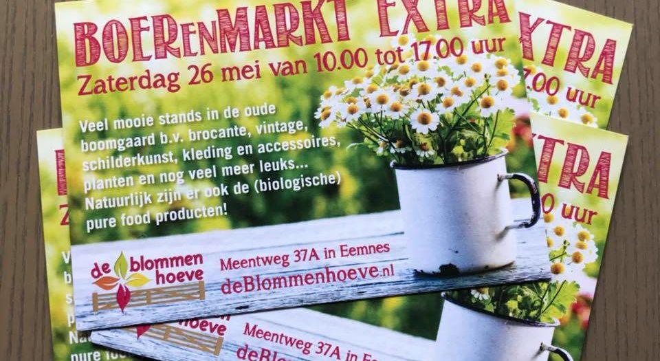 Ontwerp flyer Blommenhoeve Eemnes