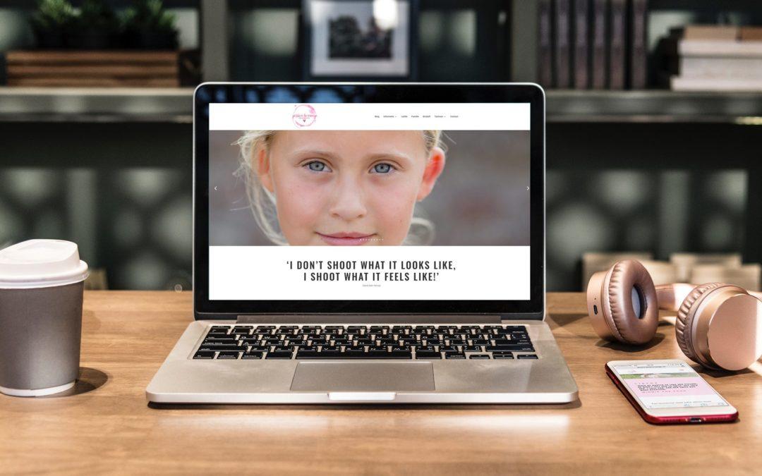 Webdesign Jessica de Vroege Fotografie uit IJsselstein