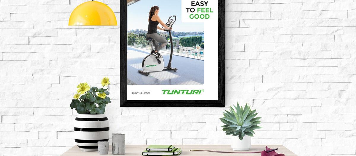 Ontwerp design poster Tunturi Fitness - Almere