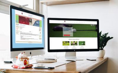Nieuw design website Golfschool Spandersbosch Hilversum