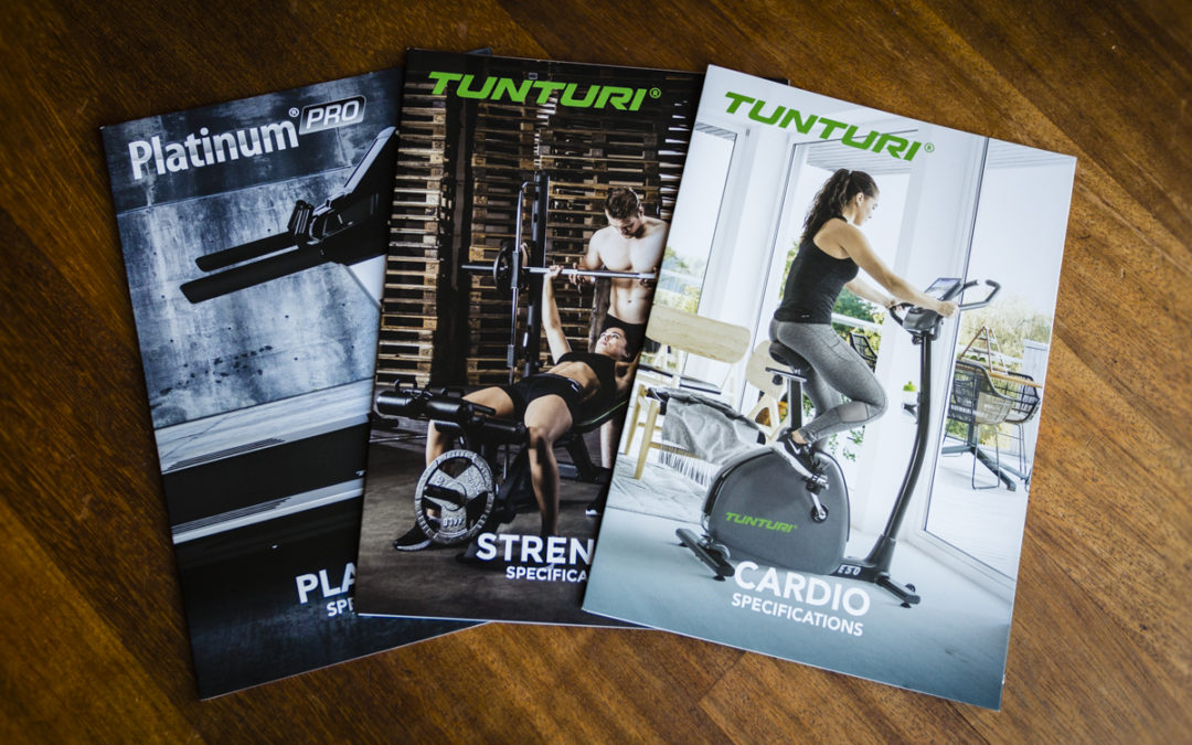 Brochures / 4luik Tunturi Fitness