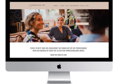 Website HANDLED BY uit 's Graveland