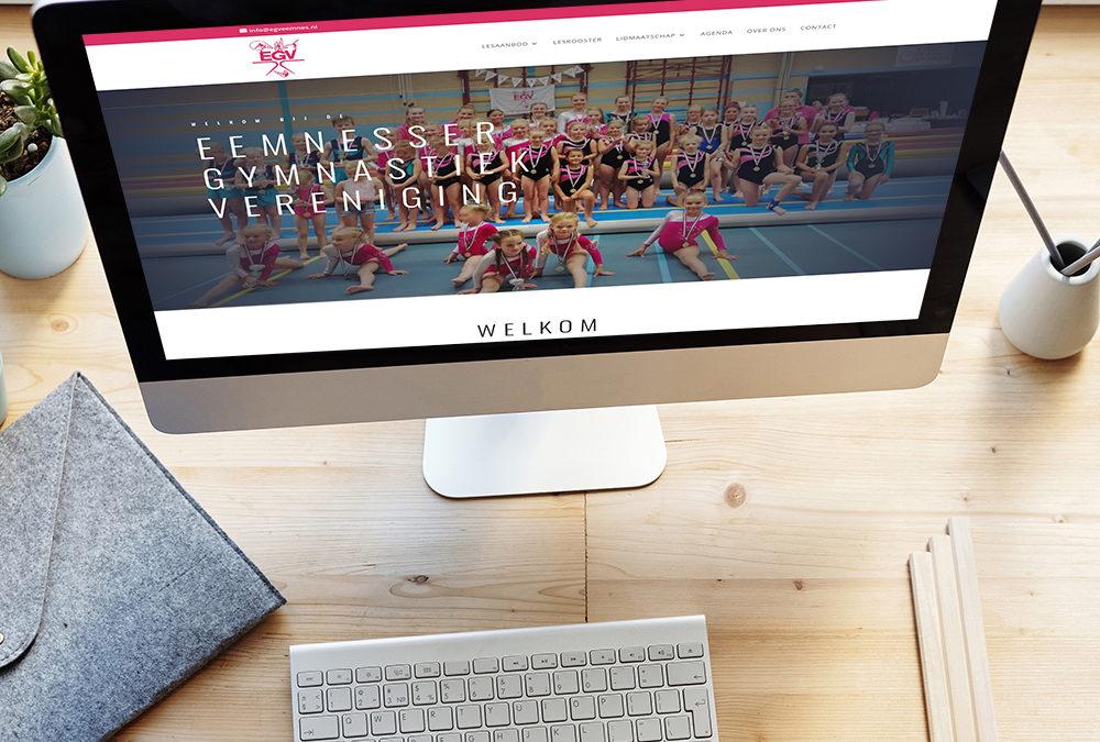 Website Gymnastiekvereniging Eemnes